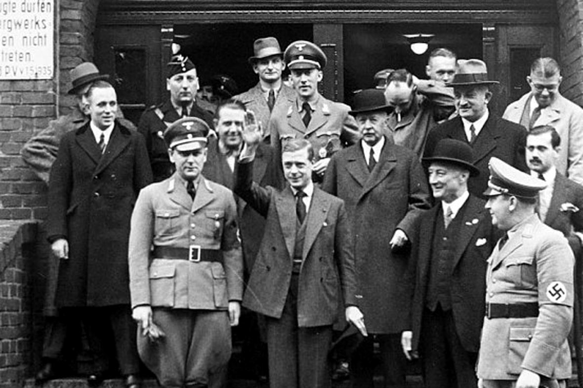 Princ Eduard na snímcích z roku 1937