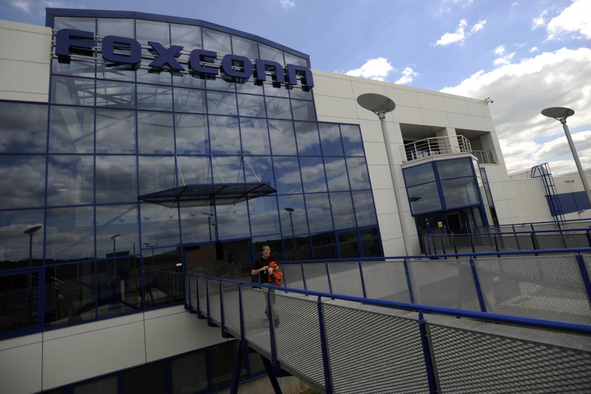Sídlo výrobního závodu Foxconn v Kutné Hoře