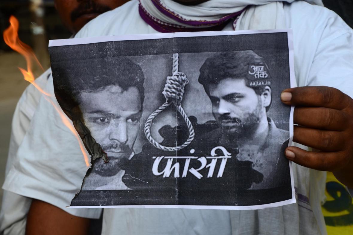 Poprava sponzora útoků v Bombaji