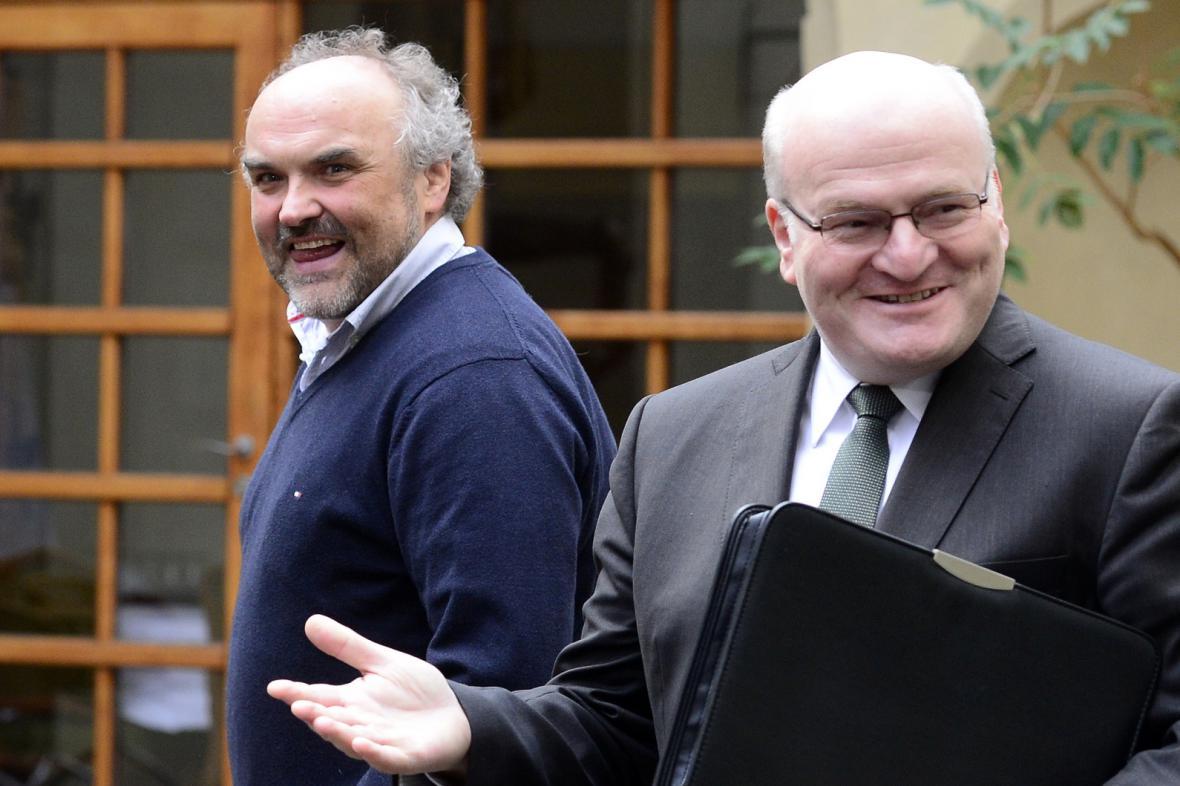 Jiří Fajt a Daniel Herman