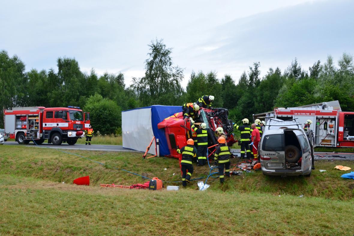 Nehoda na Chomutovsku