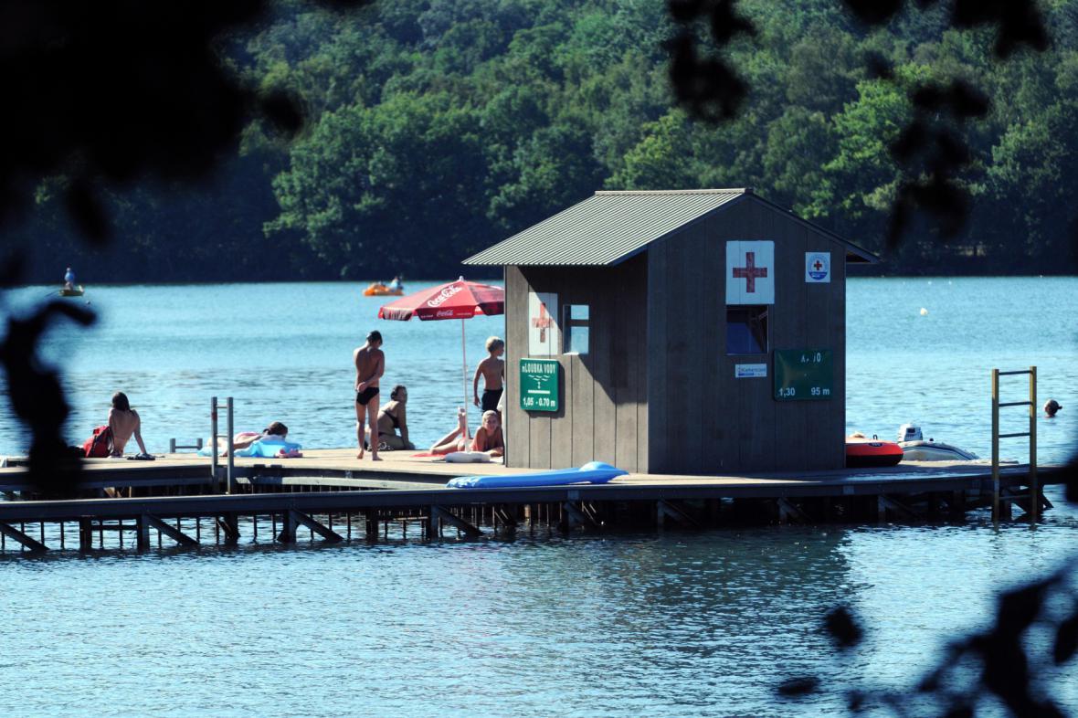 Rekreační areál Kamencového jezera v Chomutově