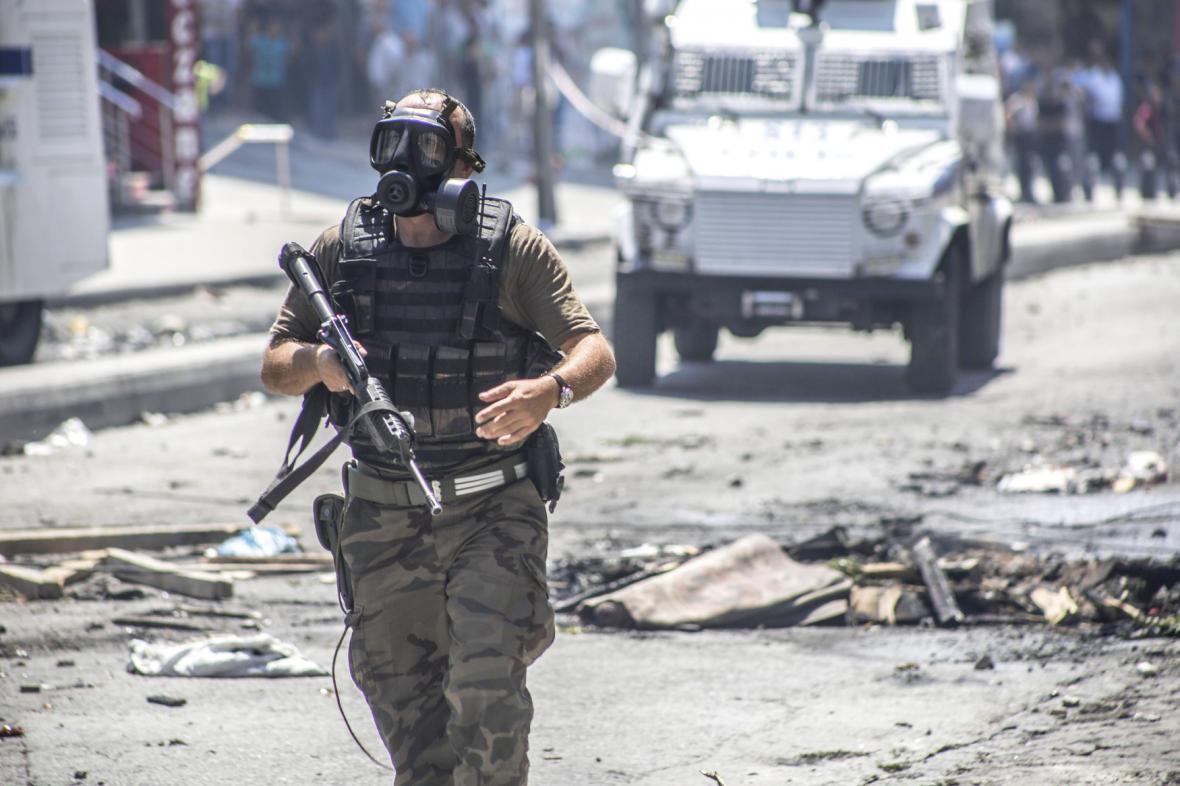 Nepokoje v Istanbulu