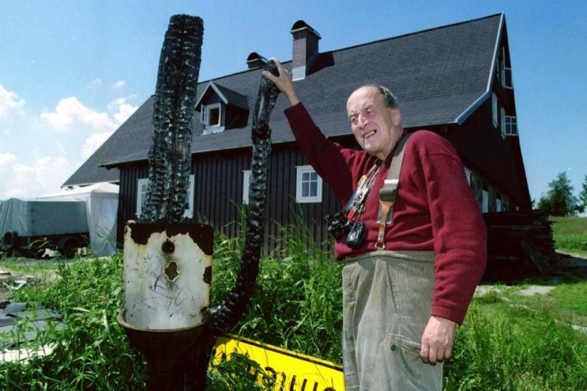 Gustav Ginzel na fotografii z roku 1997