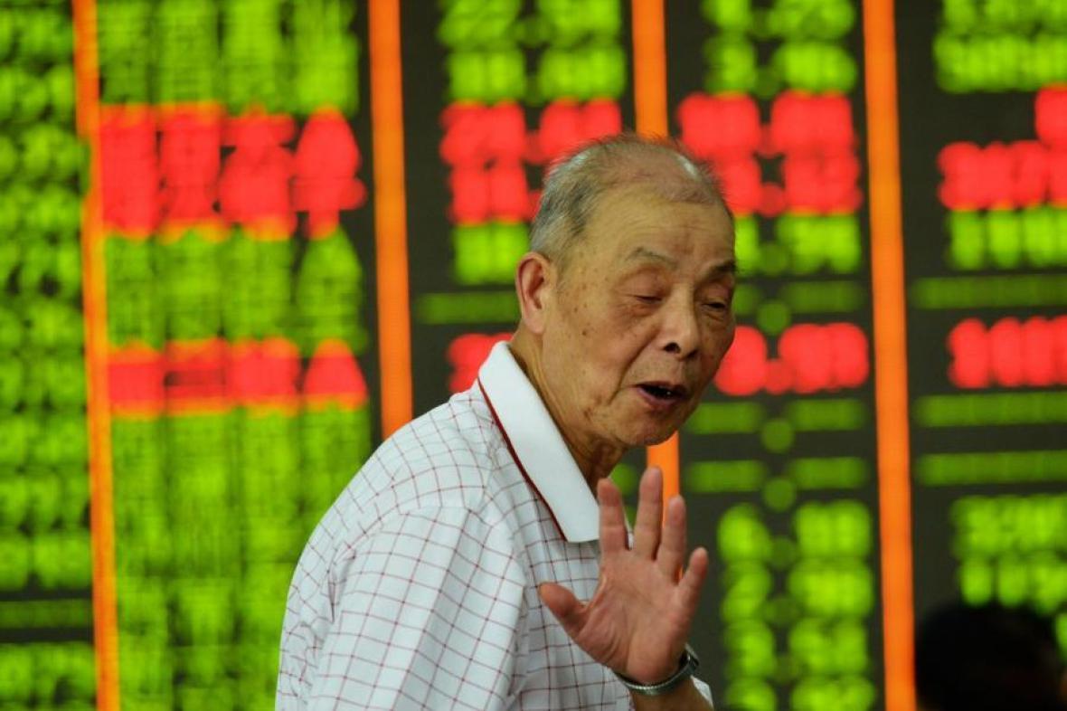 Propad čínských akcií pokračuje