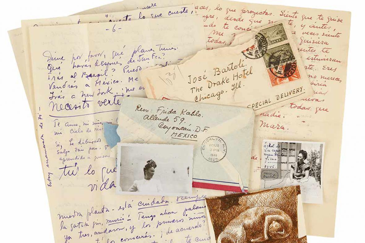 Milostné dopisy Fridy Kahlo