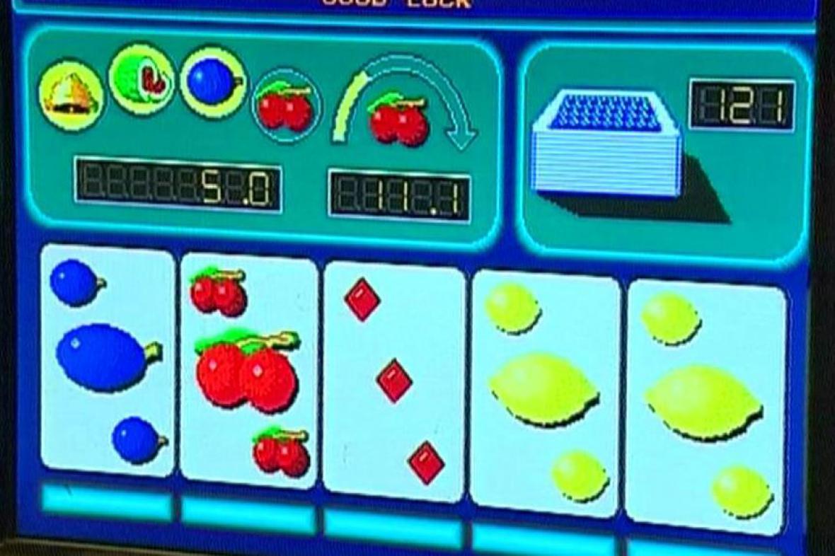 Hrací automaty. Ilustrační foto.