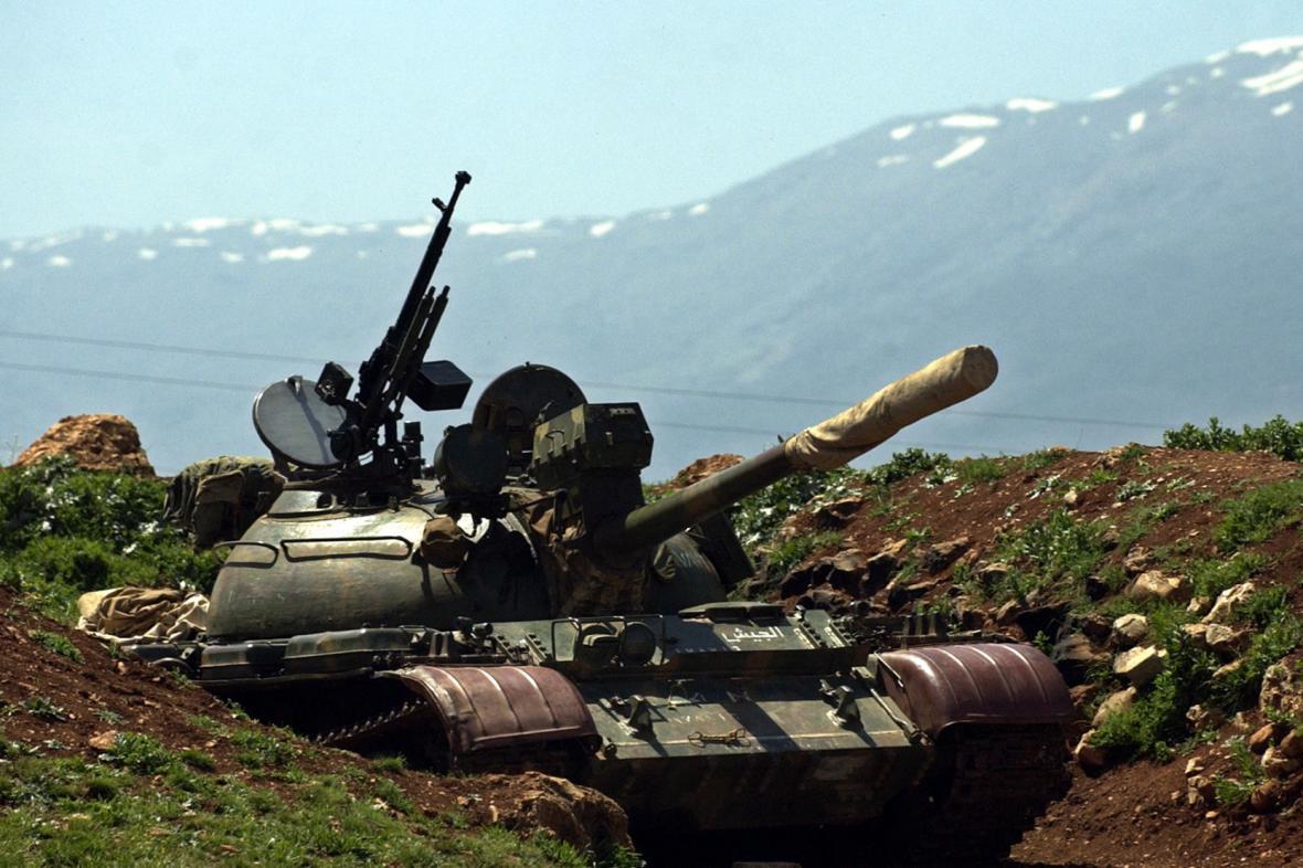 Libanonské údolí Bikáa
