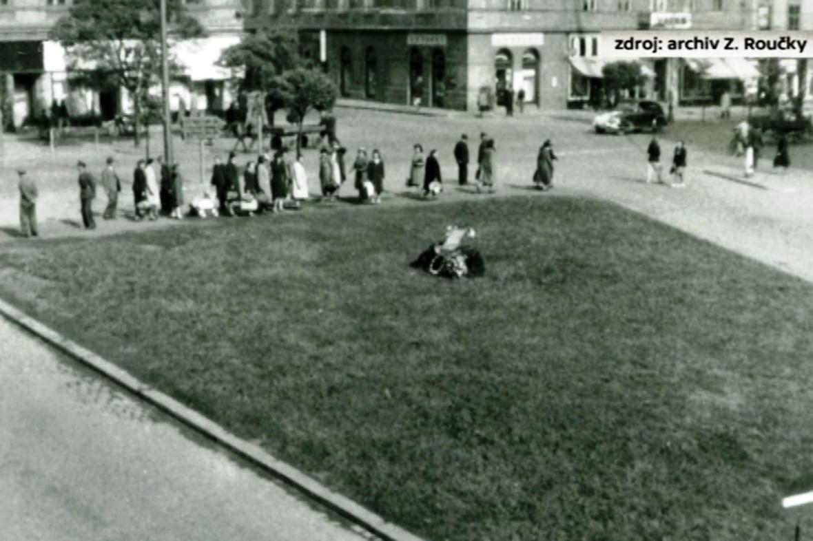 V roce 1947 postavili v Plzni základní kámen pámatníku americké armády