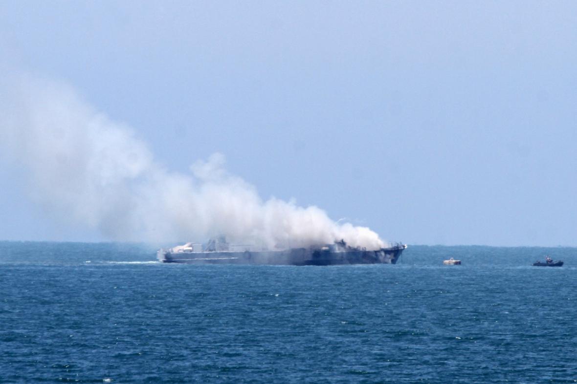 Útok IS na egyptskou loď