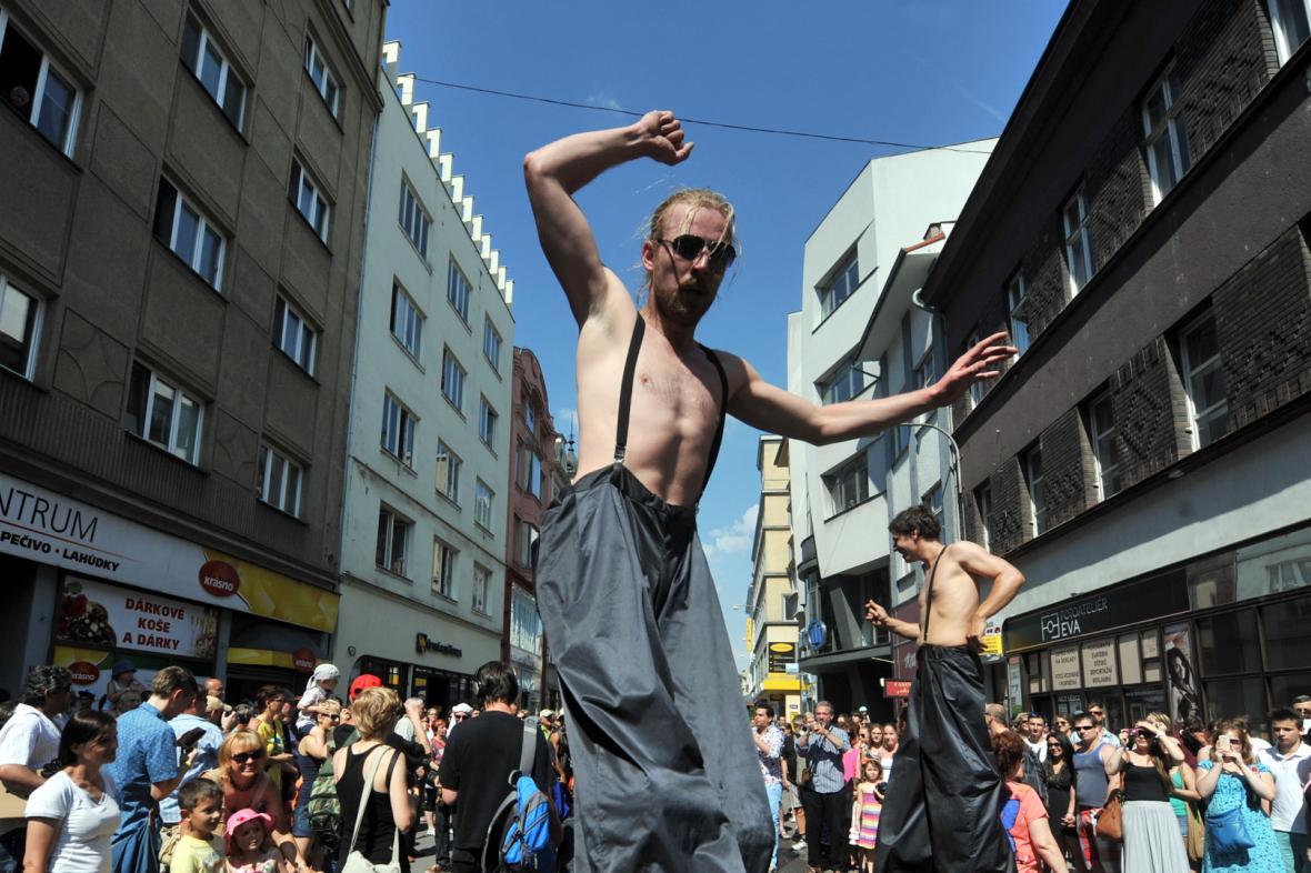 Festival v ulicích  v Ostravě