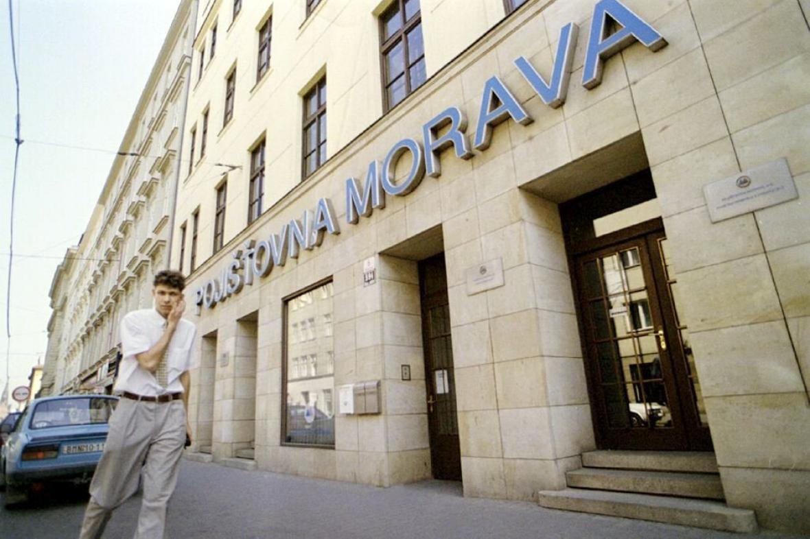 Pojišťovna Morava v Brně (snímek z roku 1998)