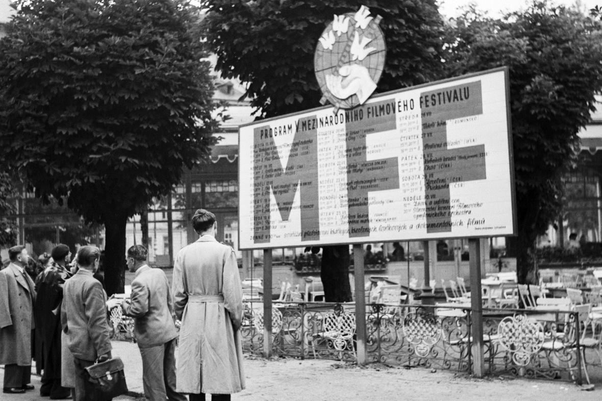 MFF Karlovy Vary v roce 1950