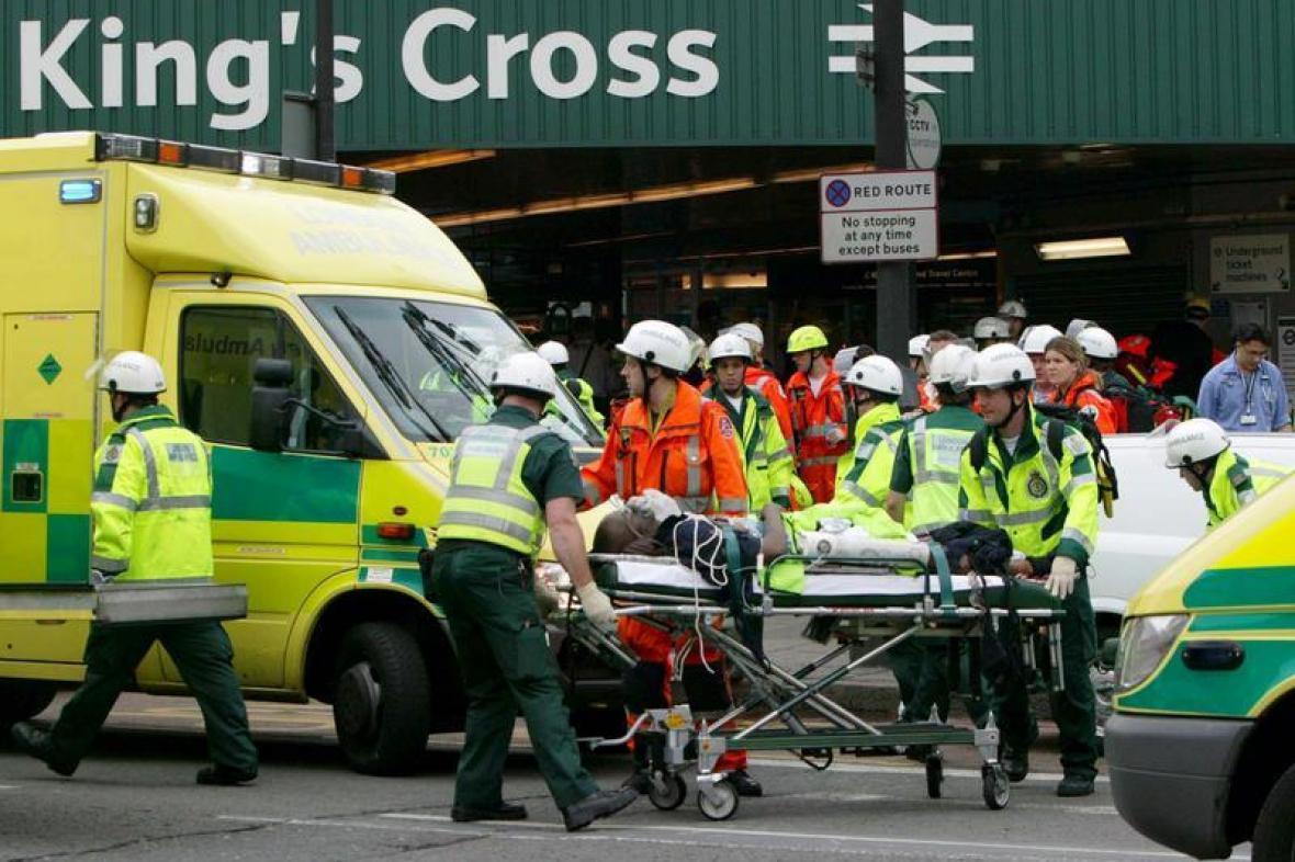 Zásah u stanice King's Cross