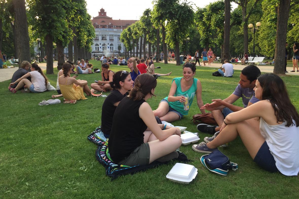Návštěvníci 50. MFF Karlovy Vary