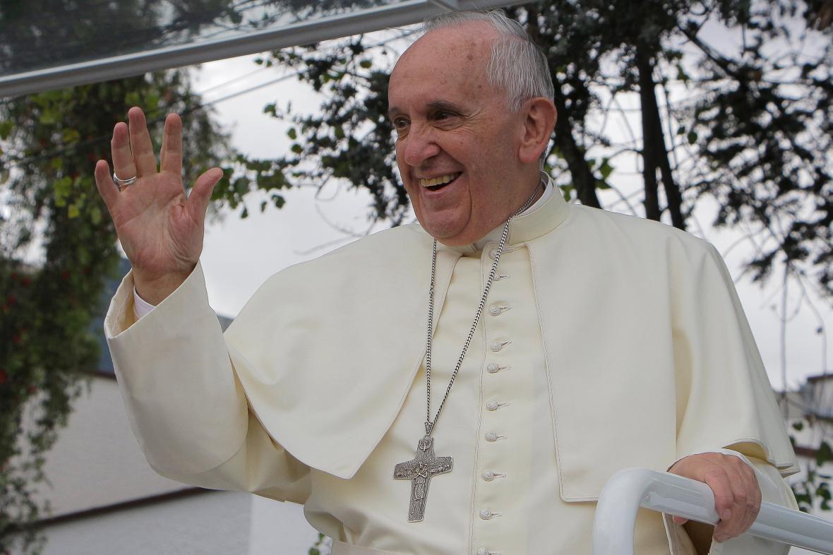 Papež František zdraví věřící v Ekvádoru