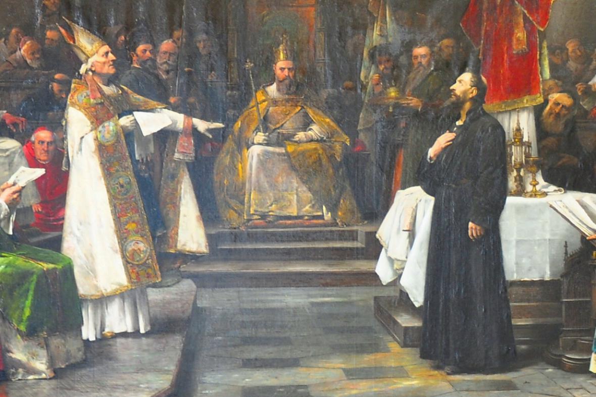 Mistr Jan Hus na koncilu kostnickém