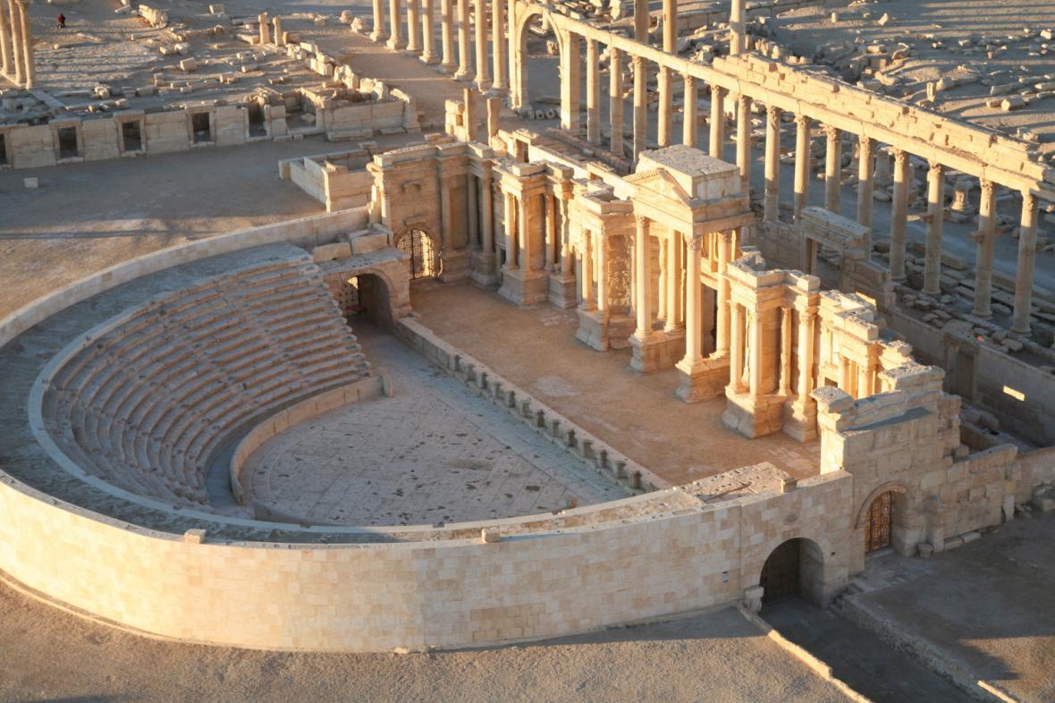 Amfiteátr v Palmýře