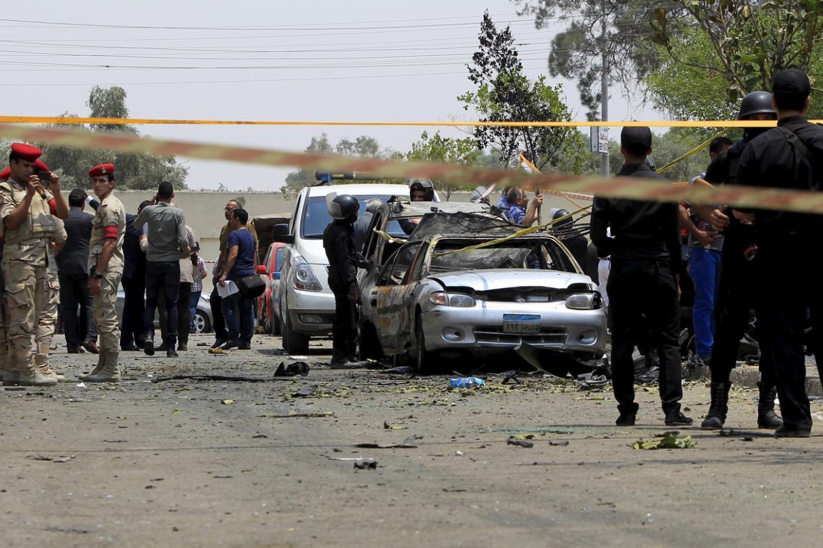 Vyšetřování útoku v Egyptě