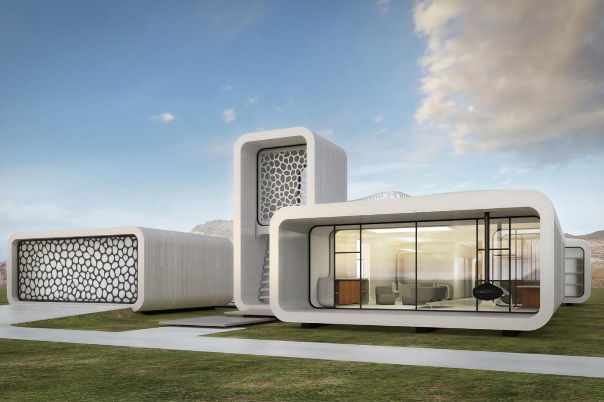 Model plánované budovy v Dubaji