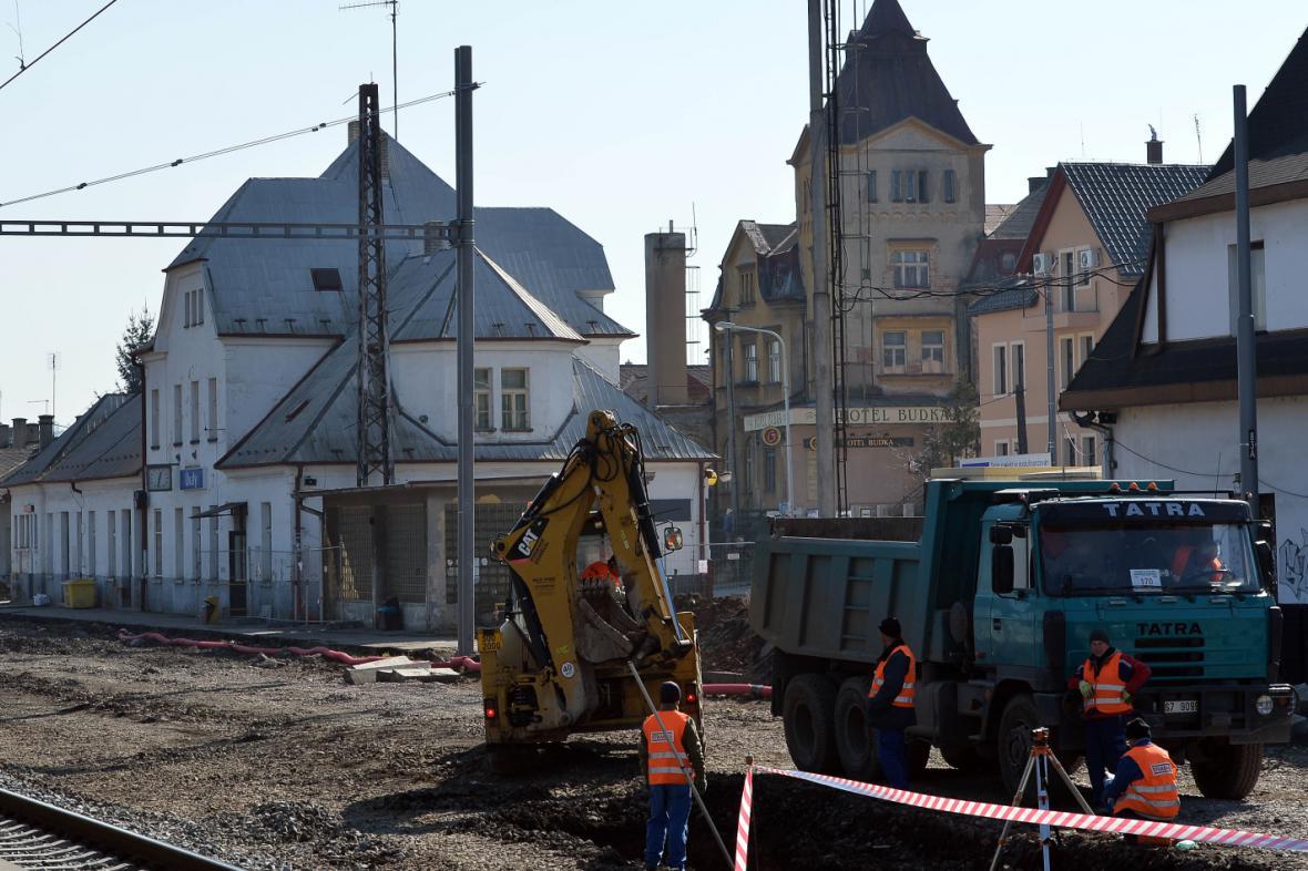 Rekonstrukce úvalského nádraží