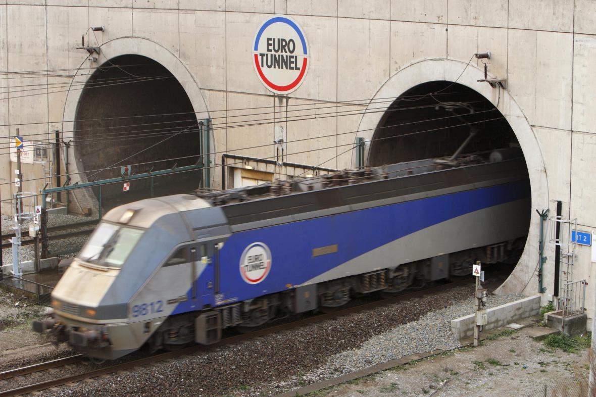 Eurotunel pod Lamanšským průlivem