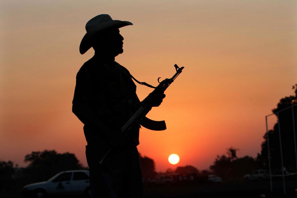 Mexická domobrana jako nikdy nekončící boj