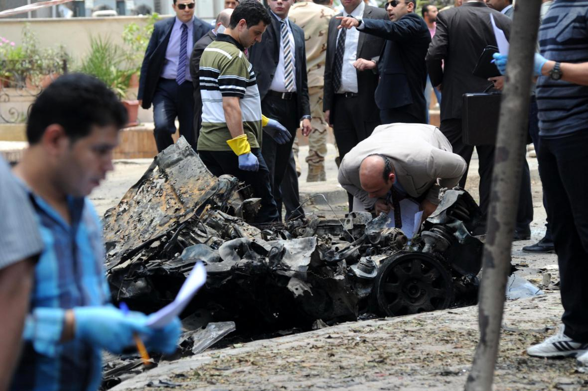Bombový atentát v Káhiře