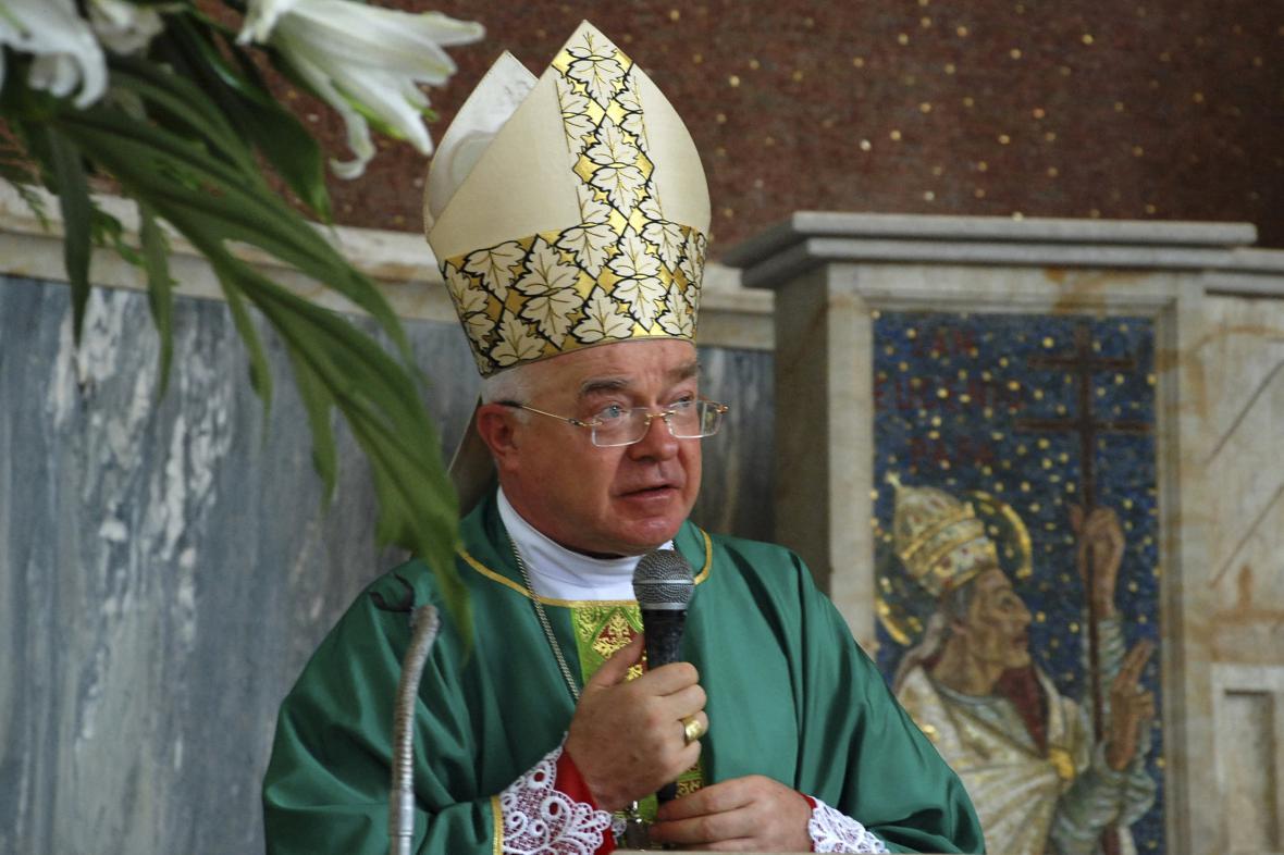 Józef Wesolowski na archivním snímku z roku 2009