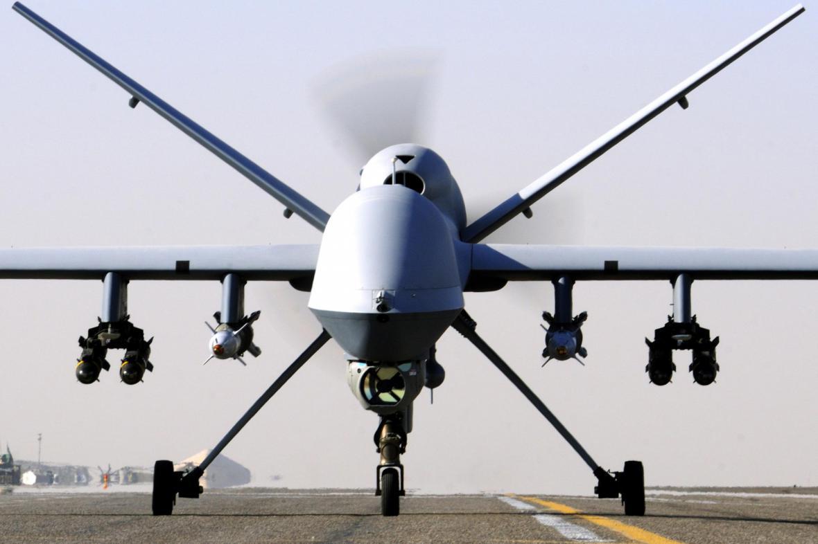 Britský dron