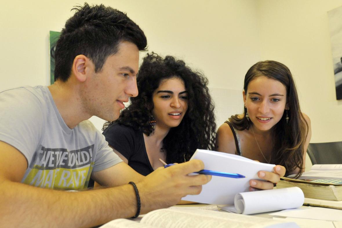 Studenti Filozofické fakulty Univerzity Palackého