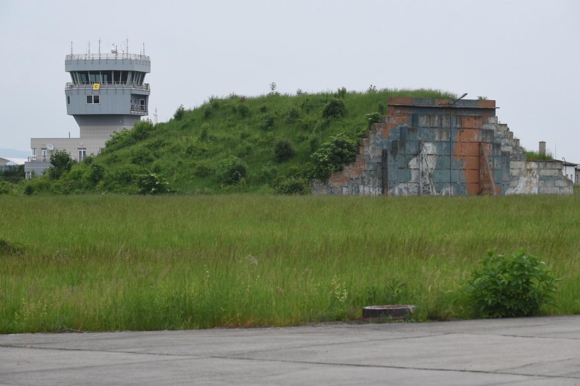 Bývalá vrtulníková základně v Přerově-Bochoři