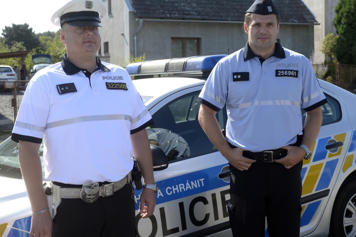 Nové policejní uniformy
