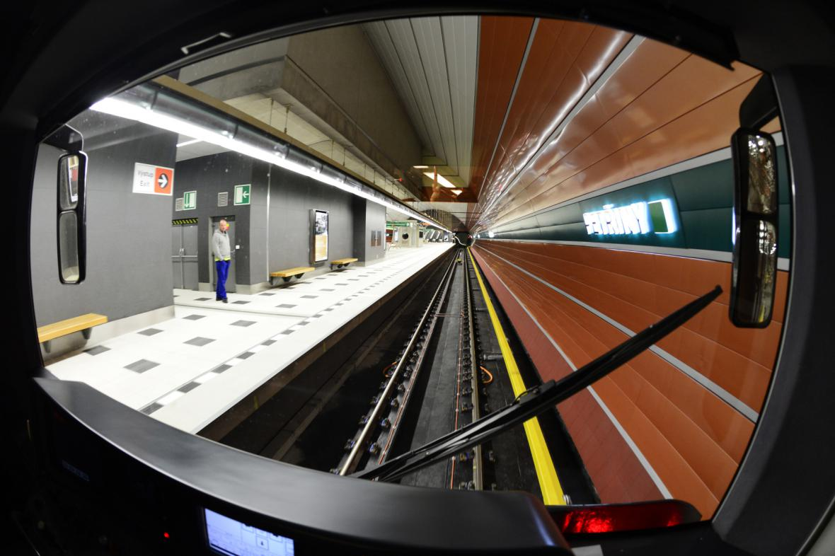 Stanice metra Petřiny