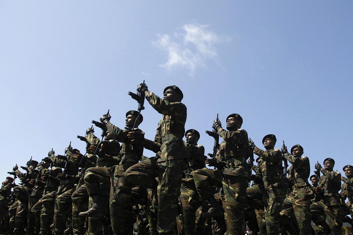 Vojáci srílanské vlády
