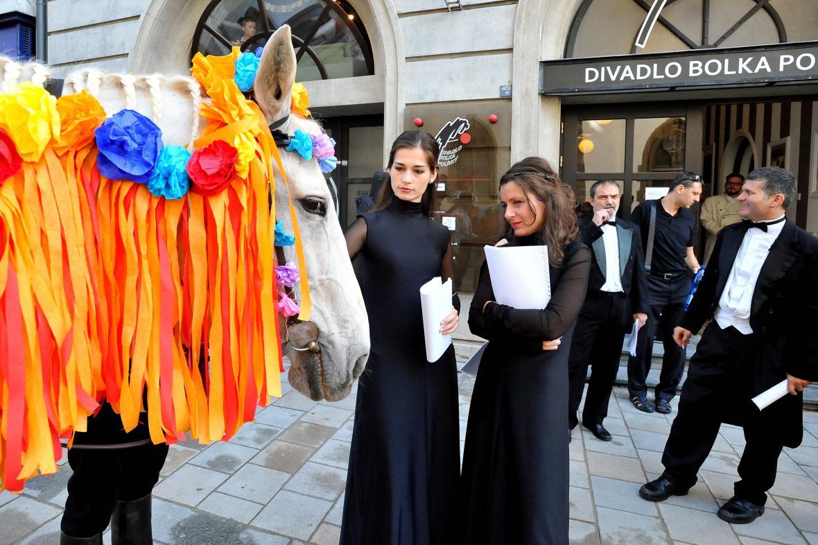 Veřejná zkouška Divadla Husa na provázku