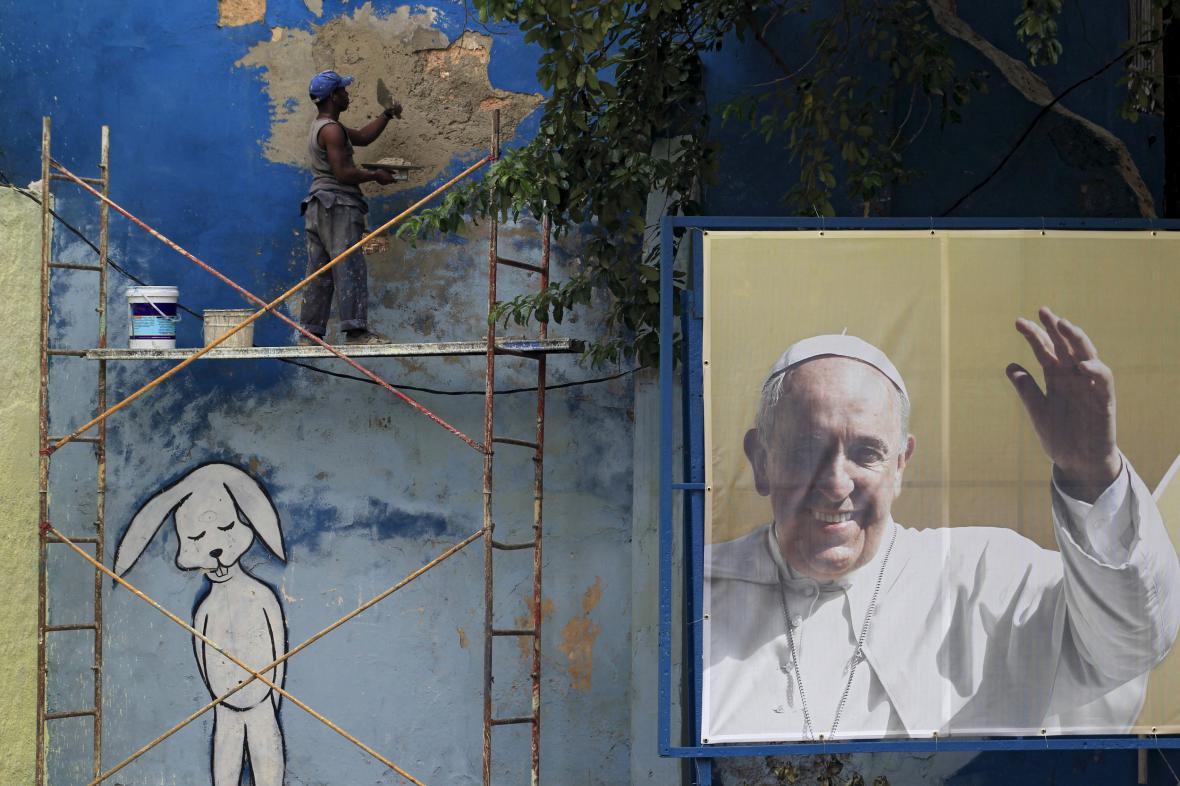 Kuba se připravuje na příjezd papeže