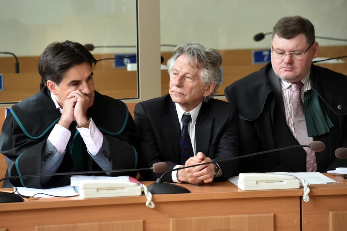 Polanski byl u soudu osobně přítomen