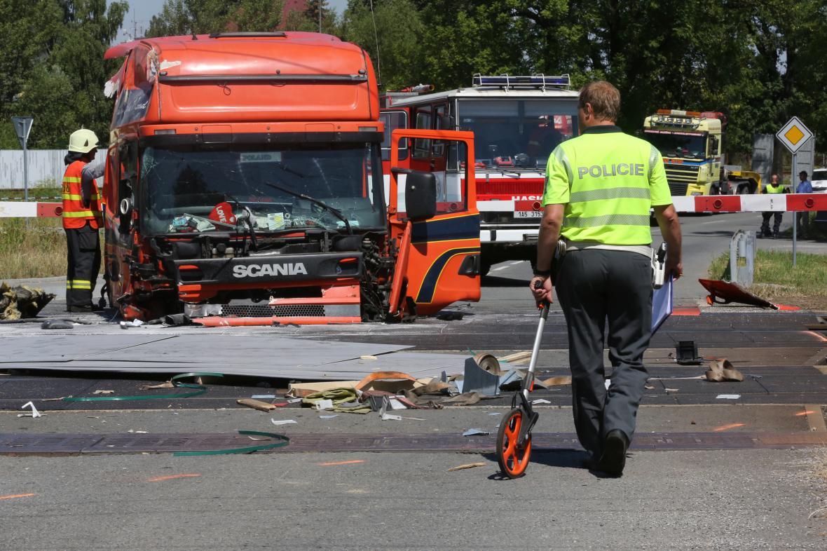 Nehoda kamionu s pendolinem ve Studénce