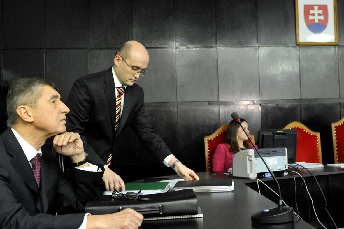 Babiš u slovenského soudu