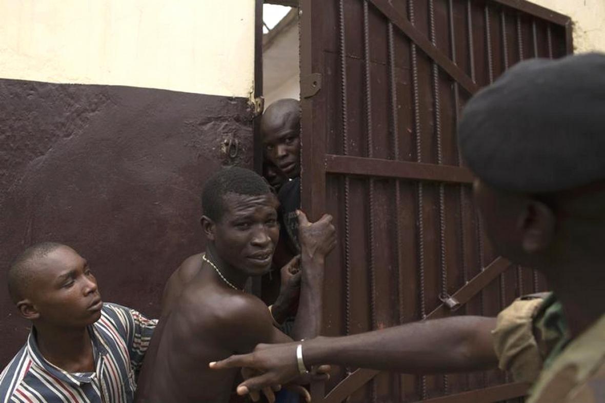 Napětí ve středoafrických věznicích