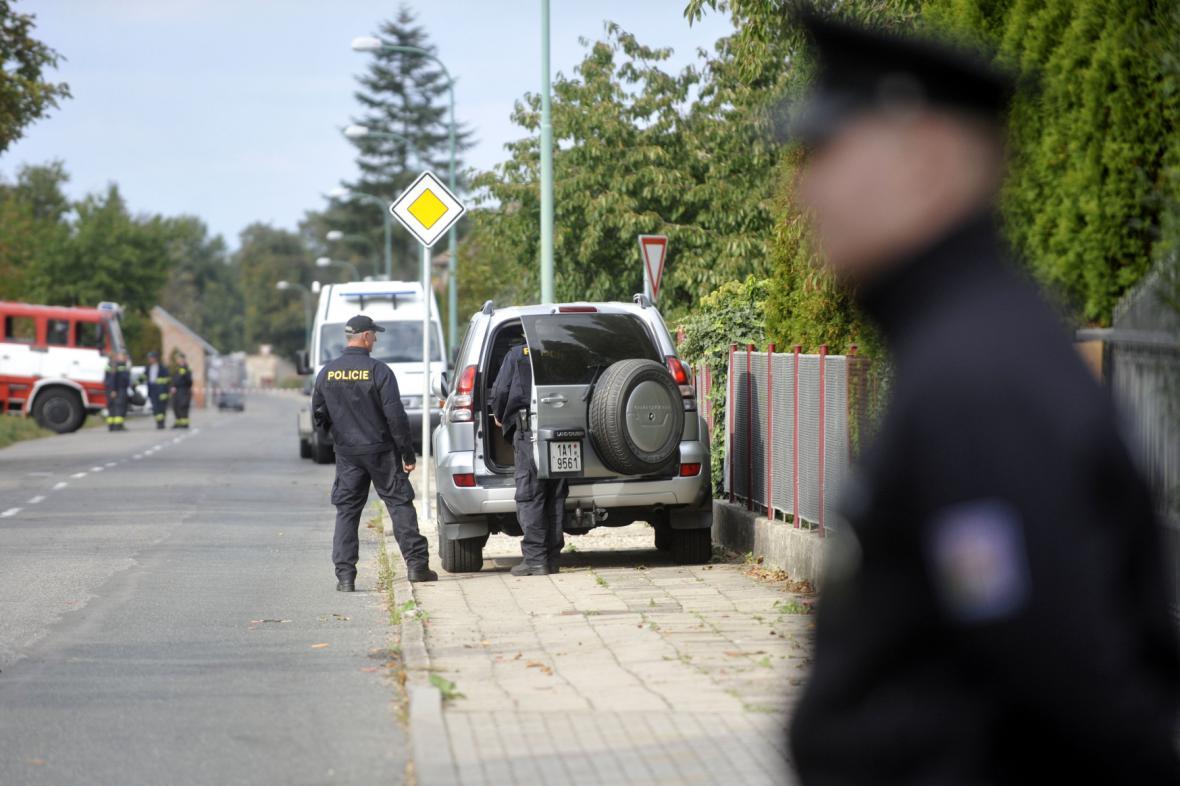 Policejní zásah ve Valech ve středu 30. září