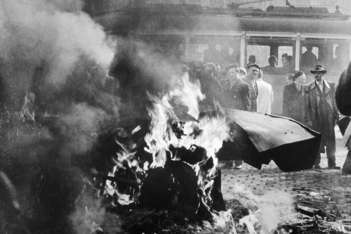 Maďarské povstání v roce 1956