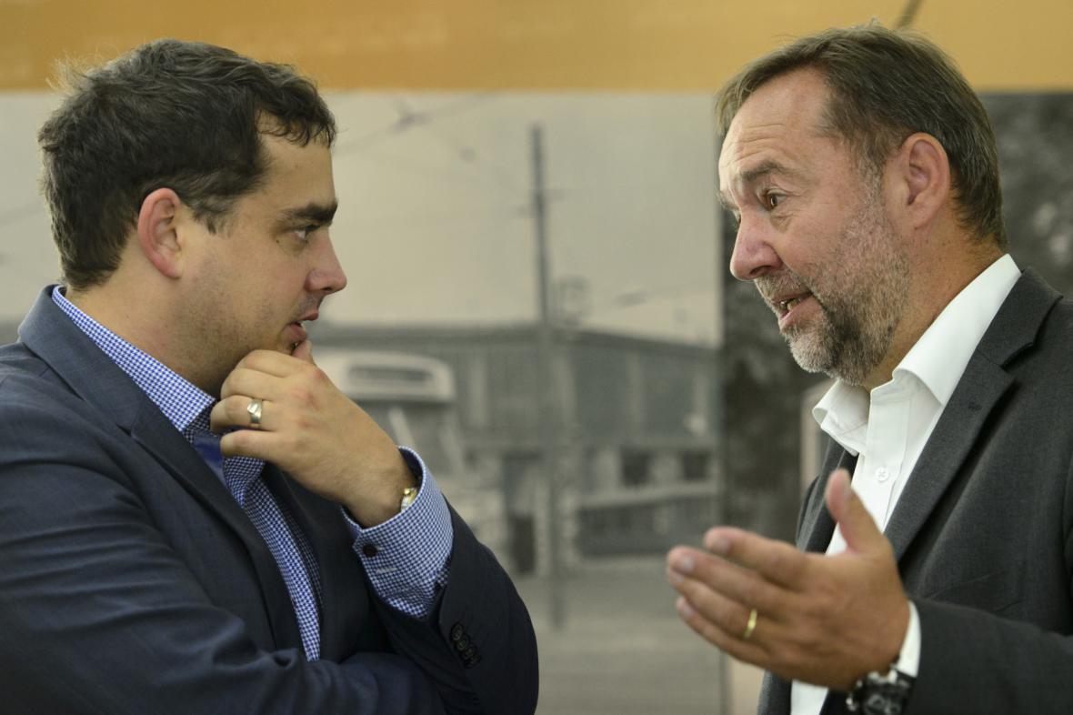Petr Dolínek a Jaroslav Ďuriš