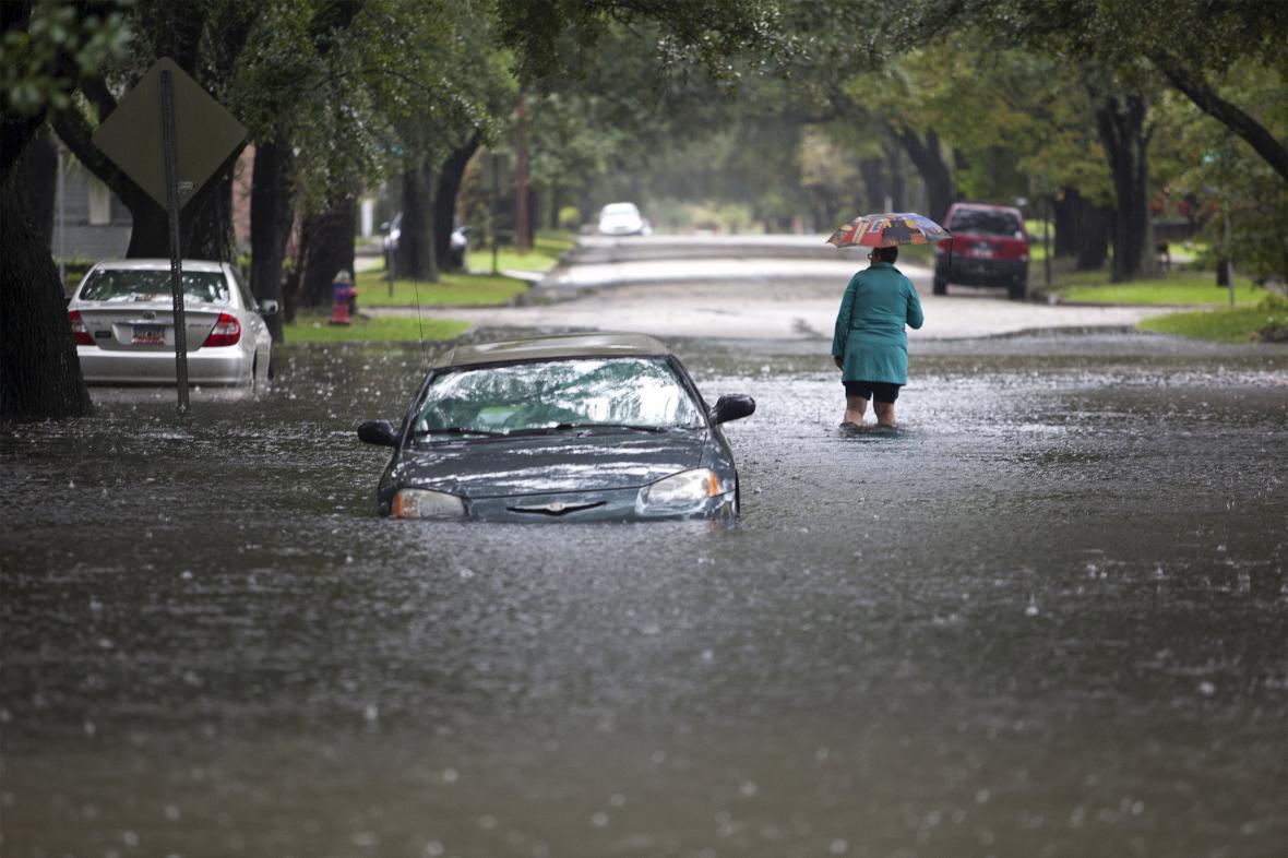 Georgetown v Jižní Karolíně se ocitl z větší části pod vodou