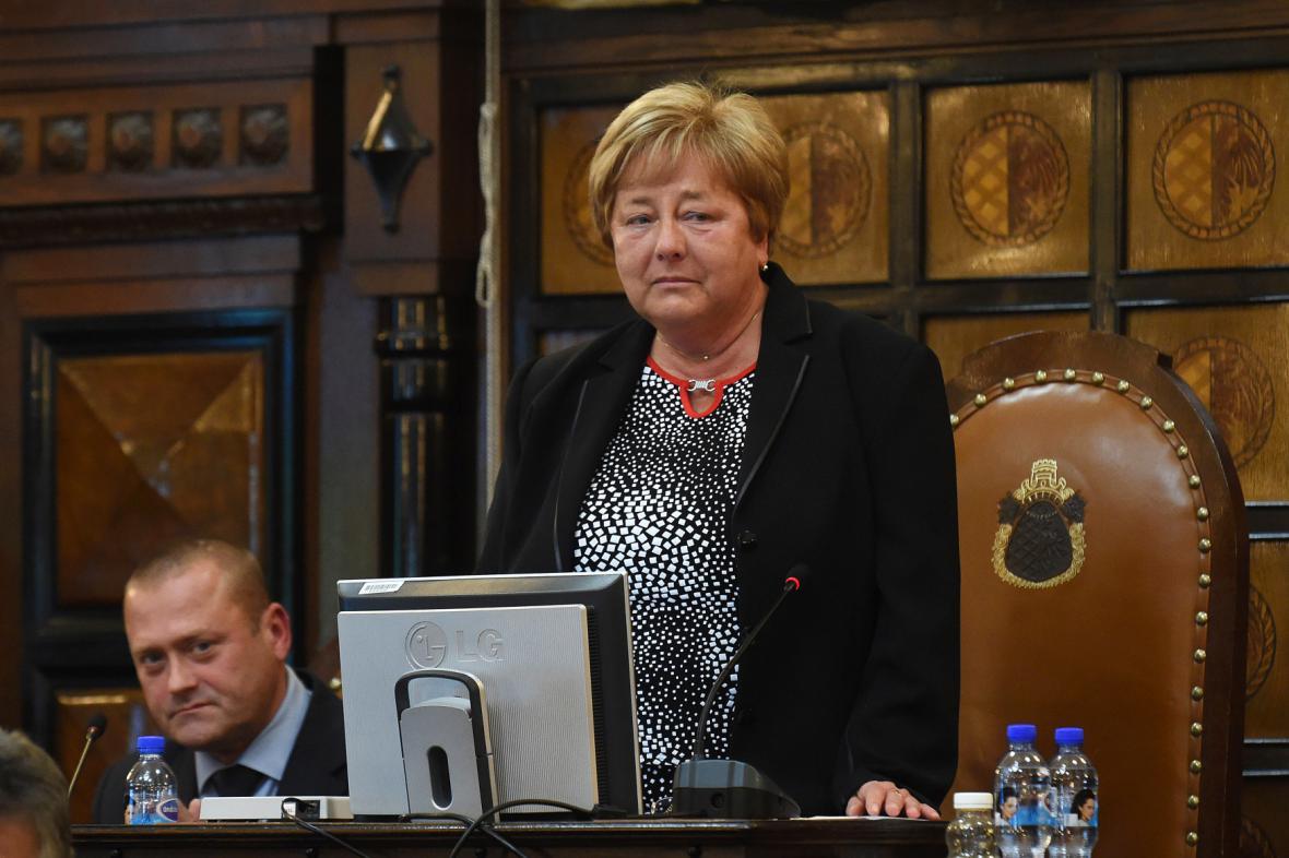 Nová primátorka Prostějova Alena Rašková