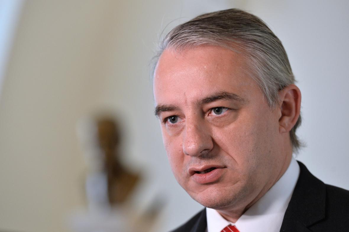Předák odborů Josef Středula