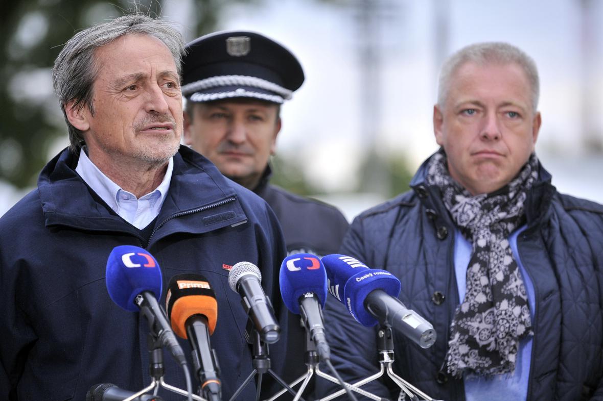 Martin Stropnický, Tomáš Tuhý a Milan Chovanec