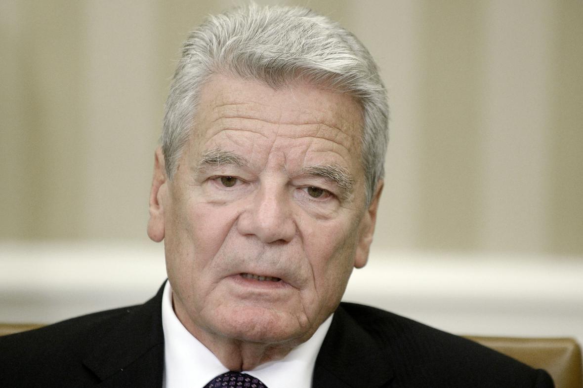 Joachim Gauck v Bílem domě