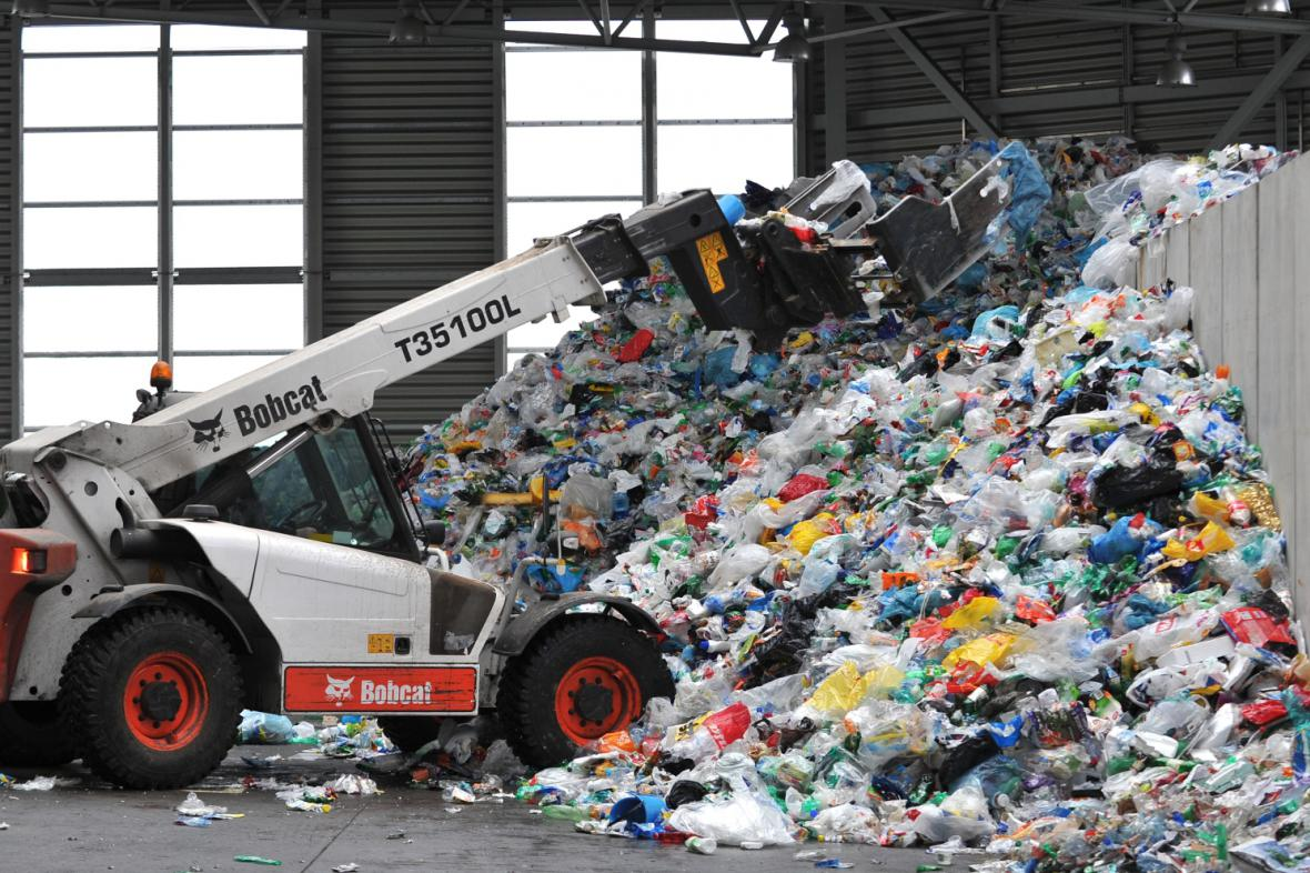 Třídírna odpadu